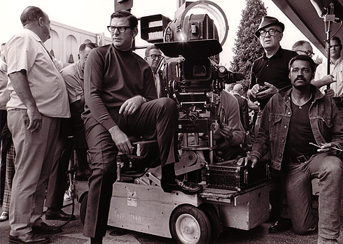 Melvin Van Peebles and Film Crew